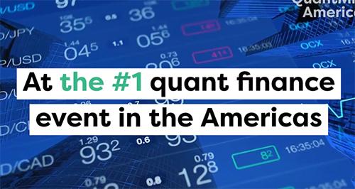QuantMinds Americas Quant Finance Event